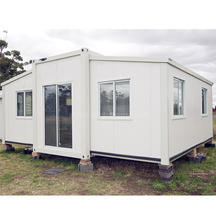 Australia standard mobile home cabin movable expandable container house with barth room