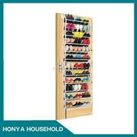 hanging door wine acrylic wall mounted shoe rack