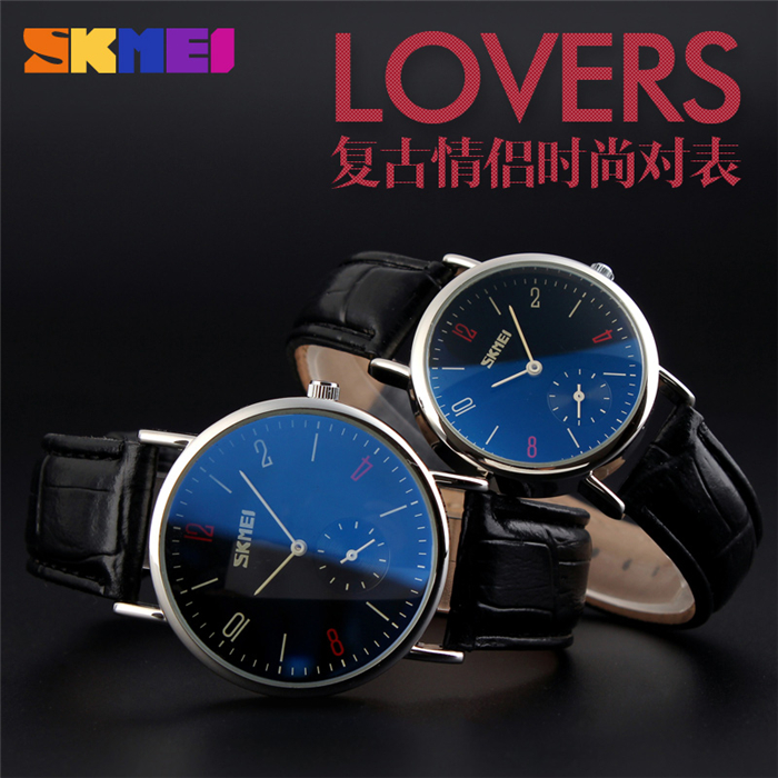 Low Price Japan Movement Stainless Steel Back Fashion Lovers Gift Watch