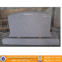 Quality Assurance Black Light Grey Granite Tombstone
