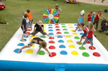 twister games inflatables, 2015 amusement park CE approved WSP-071 topsy turvy inflatable games,inflatable twister games