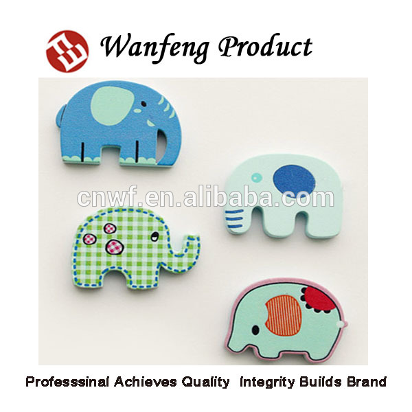Promotional flat lovely Cartoon pattern fridge magnet