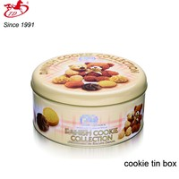 oem metal cookie/biscuit tin cans, cake box for gift