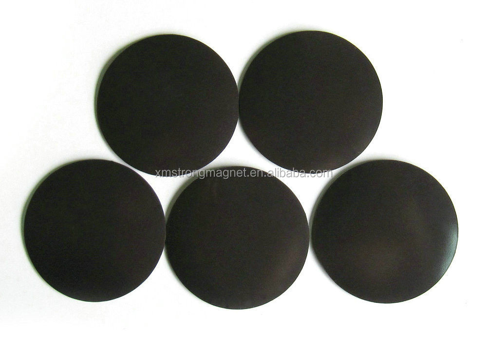 Wholesale Flexible Round magnetic rubber dot magnet for sale