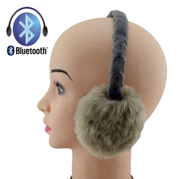 Wireless Earmuffs, Bluetooth 4.1, in-Ear Headphones with Built-in Microphone, Noise Reduction