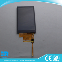 hot sale 480*800 pixel 4 inch TFT lcd screen panel for Video greeting card