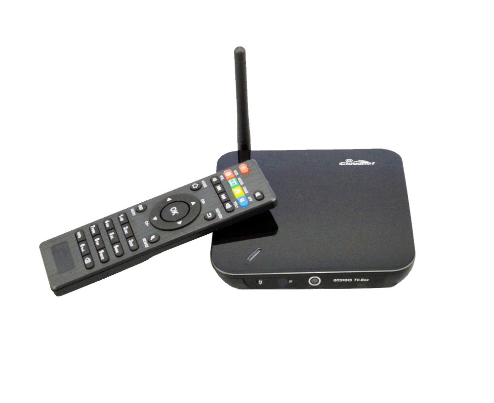 CPU RK 3288 Quad Core with cortex A17 OS 4.4 android tv box decoding H.265 Real Ultra 4K with XBMC and Kodi free channel tv box