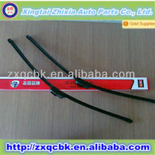2014 hot sale traditional soft flat wiper blades 16''-24''(pair)