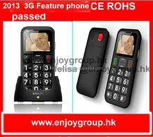 1.77'' W60 very low cost oem cdma 3g sos button mobile phone for elderly