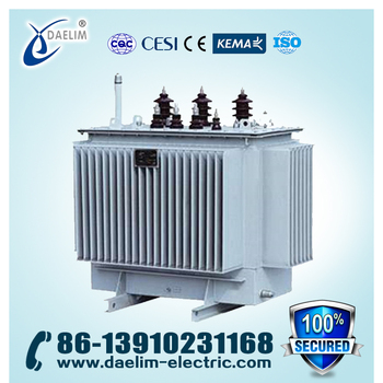 35kv Three-phase Oil-immersed Non-excitation-tap-changing Power Transformer