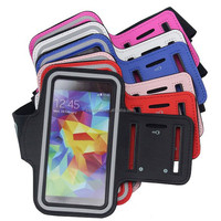 Wholesale Custom Logo Nice Waterproof Neoprene Wristband Armband Phone Holder