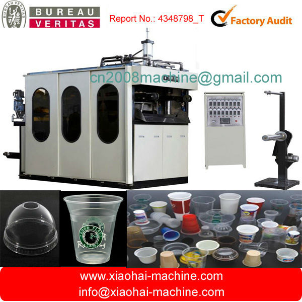 Automatic plastic Thermoforming Machine for cup