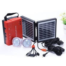 China manufacturer off-grid mini led energy kit solar system for home