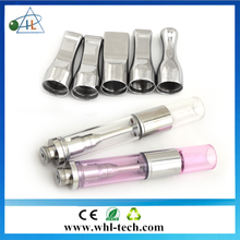 Alibaba express high margin product wickless refillable 1ml ceramic coil no leak co2 tank atomizer with custom packaging