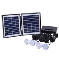 Long warranty cheap price for house use portable 20w solar off grid system