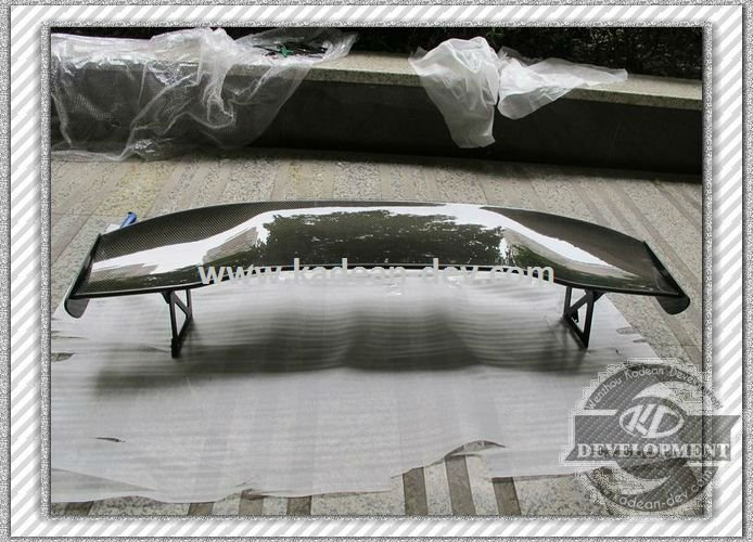 UNIVERSAL JS RACING 1600MM TYPE-1 GT WING (ALUMINIUM BRACKET 215MM) CARBON FIBER