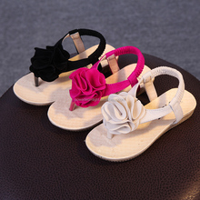 New Girls Sandals Children Summer Flowers Beach Girls Shoes