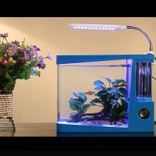 Hot model white acrylic fish tank with low price