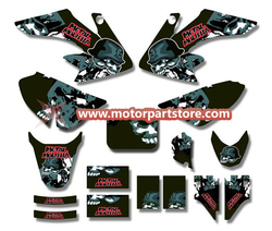 3M GRAPHICS STICKERS for HONDA CRF50 CRF50F 2004-2012 TSX-DFS004