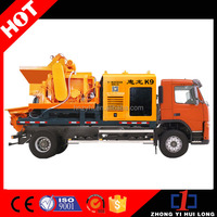 Factory Price Hydraulic Pump Concrete Mixer Machine With Lift