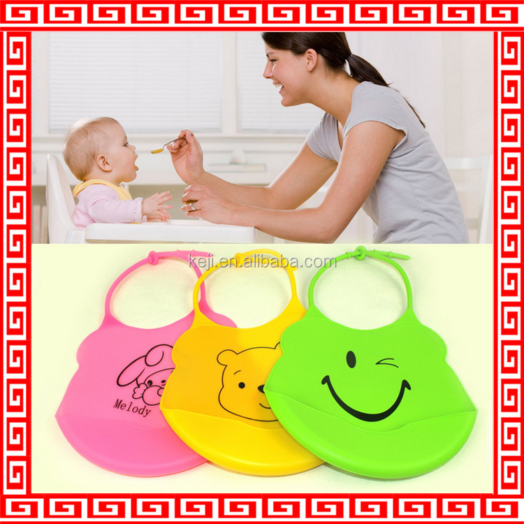 silicone rubber baby bib wholesale baby bibs for promotion