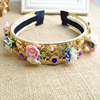 baroque flower hair jewelry, headband hair accessories korea(SWTJU464)