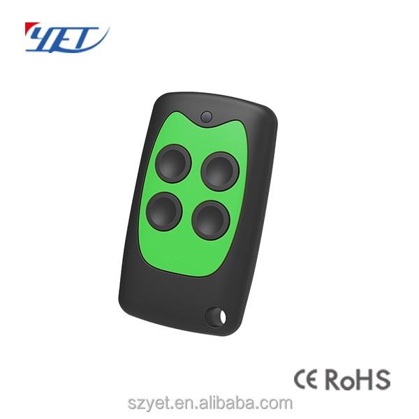High quality wireless rf 433.92mhz learning code ev1527 remote control for garage door