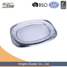 China suppliers disposable aluminum foil serving tray for foods