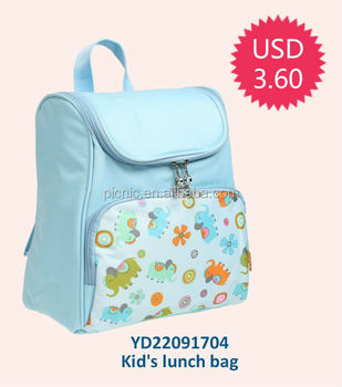 Foldable Cartoon Baby Kids Travel Bags