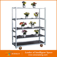 Manufecturing Flower Pot Display Transportation Cart