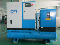 7.5kw AC Power Combined screw air compressor