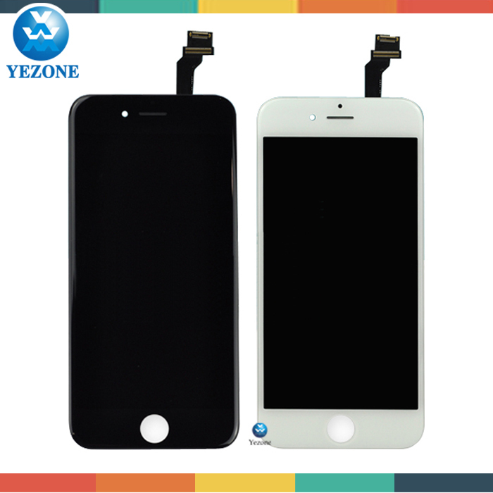 12 Months Warranty LCD For Iphone 6 plus LCD Screen Replacement, Mobile Display For Iphone 6 Plus Digitizer LCD