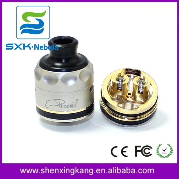 SXK 1:1 clone E-Phoenix Resurrection V2 firebird 316ss 22mm rda atomizer expromizer vaporizer for sale