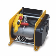 Small ac electric cable winches 250kgs~500kgs