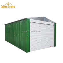 Steel Waterproof easy assembly car garage shed