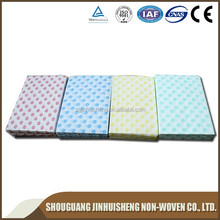 non-woven fabric non-stick cloth cleaning and wiping kitchen dish rags/dish cloth