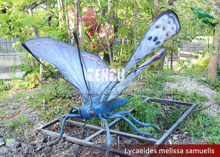 Beautify Equipment Butterfly Statues For Sale Robot Insect Toy