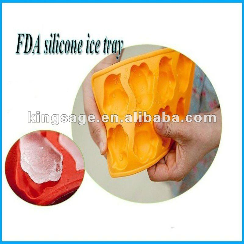 food grade healthy summer cool silicone soft unbreakable ice cube tray,ice cube moulds
