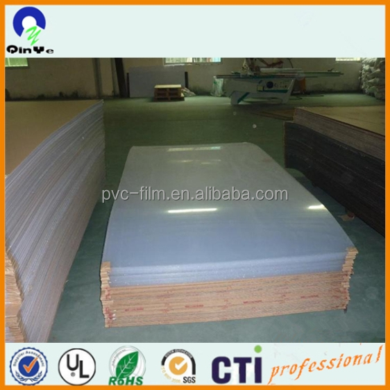 low price super clear pvc rigid extruded sheet 1mm