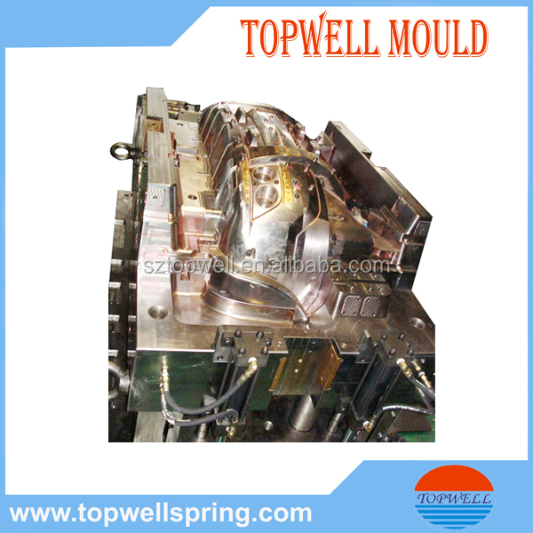 One-stop China Supplier Custom Motorcycle Part Plastic Mould, Design Motorcycle Helmet and Engine Part of Plastic Injection Mold