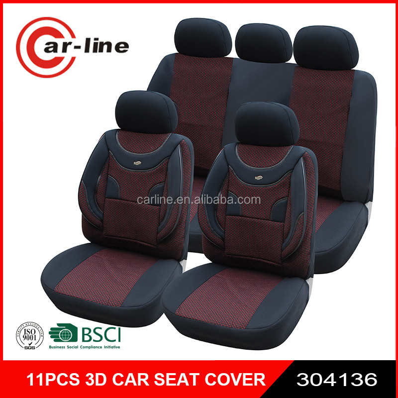NEW 3D DELUXE CAR SEAT COVER