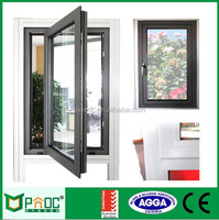 french aluminum casement window/glass window,aluminum casement window drawing,large glass windows