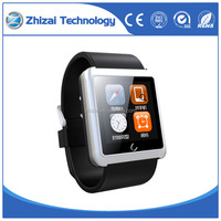 Bluetooth smart wrist watch with Anti-lost and pedometer function for android and IOS smartphones