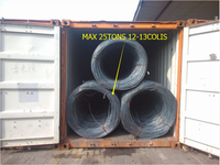 BS4449 460B 500B deformed steel bars/steel wire rods for construction