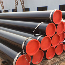 125 MM Diameter ERW Welded Steel Pipes, API 5L x60 Oil Steel Pipeline