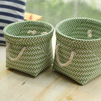 Handmade crafts of plastic basket woven baskets wholesale