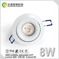 Norway Market dim warm 2000-2800k 83mm Cutout cri99 cob downlight