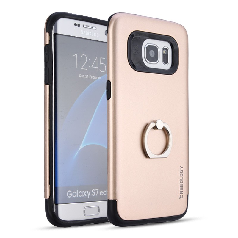 Lowest price Metal ring stander PC frame cell phone accessory for Samsung Galaxy S7 edge