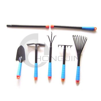 5pcs small metal garden hand tool sets with adjustable for Small garden hand tools