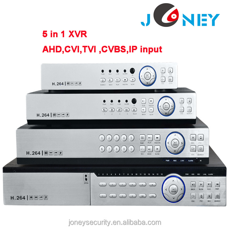 Hybrid <strong>DVR</strong> XVR with AHD CVI TVI CVBS IP input 16 channel 4MP <strong>DVR</strong>